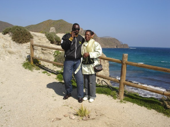 Errol and Angie - A Day Out in Spain