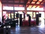 Our set up, inside